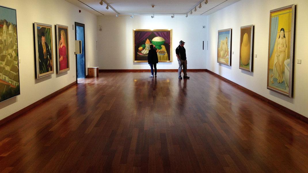 Kunst- und Kulturliebhaber werden die fabelhaften - meist eintrittsfreien - Museen lieben... Bogotá, Kolumbien (Foto Jörg Schwarz)