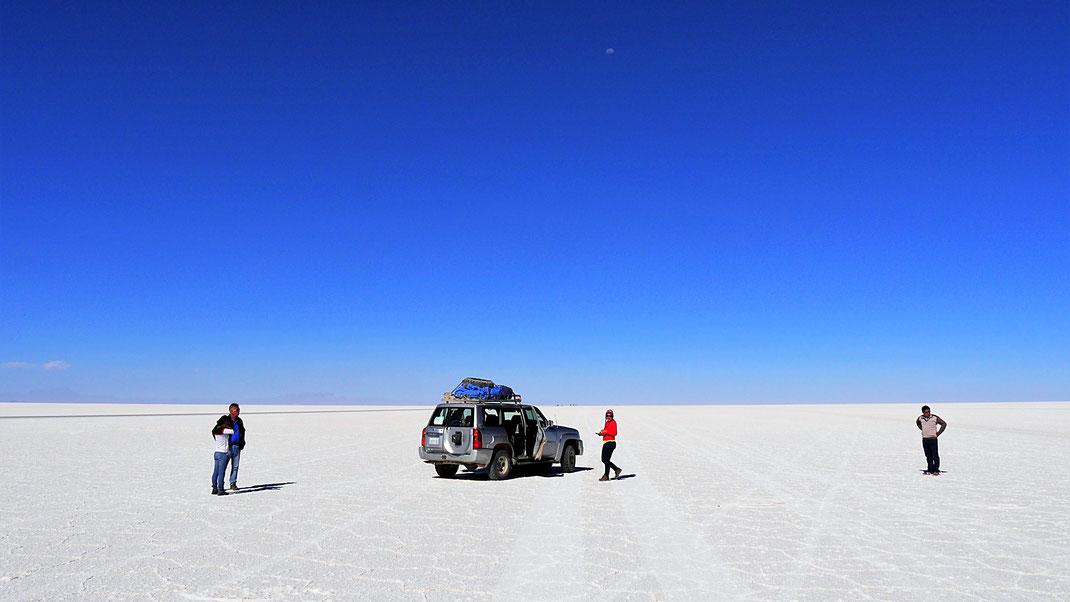 Der See der Uyuni berühmt macht: Der Salar de Uyuni, Salar de Uyuni, Bolivien (Foto Jörg Schwarz)