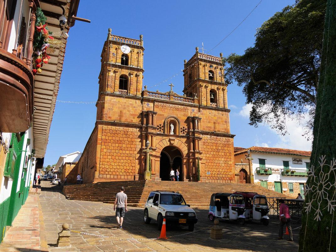 Im Zentrum der kolonialen Perle Barichara... Barichara, Kolumbien (Foto Jörg Schwarz)