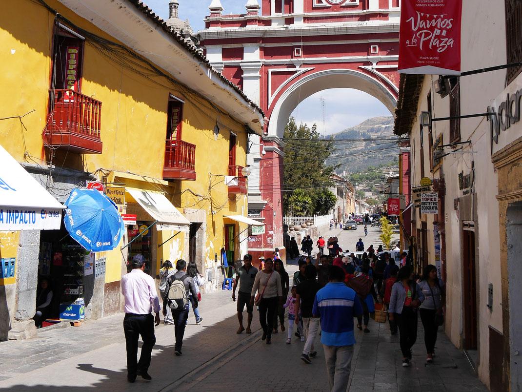 In der Altstadt von Ayacucho, Peru (Foto Jörg Schwarz)