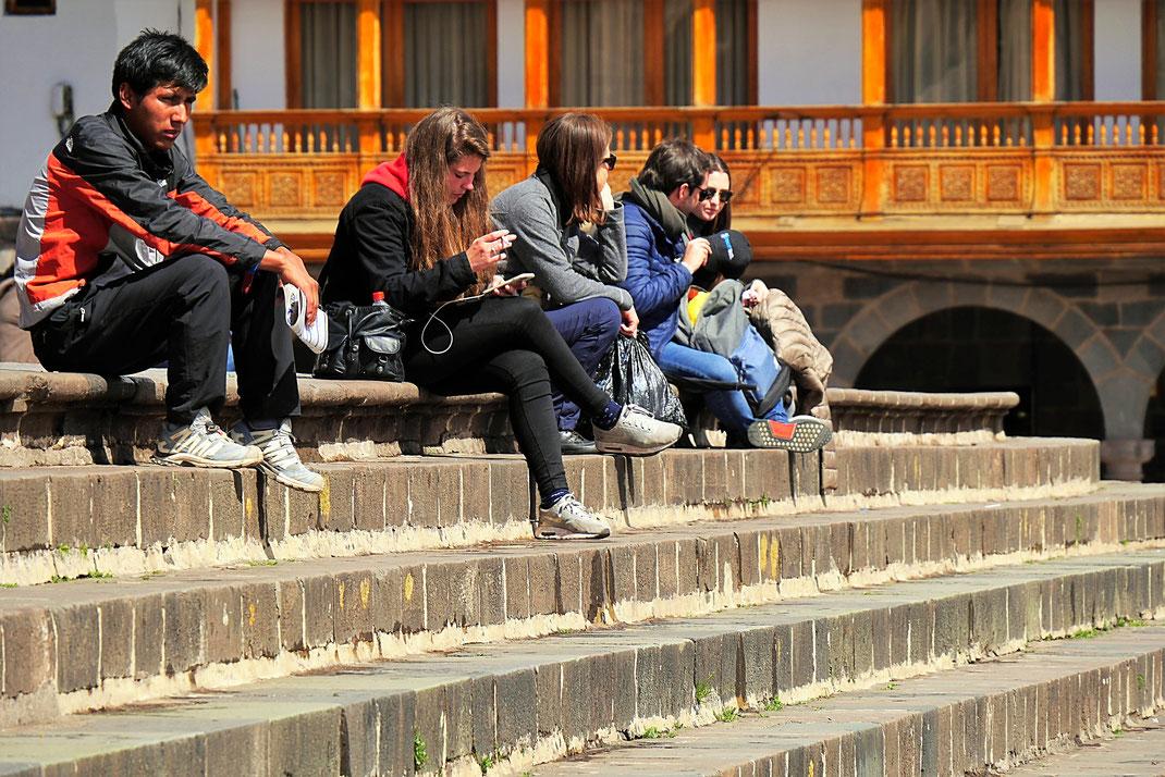 Zeit und Müßiggang sind ein Luxus - einfach mal die Seele auf Reise schicken... Peru (Foto Jörg Schwarz)