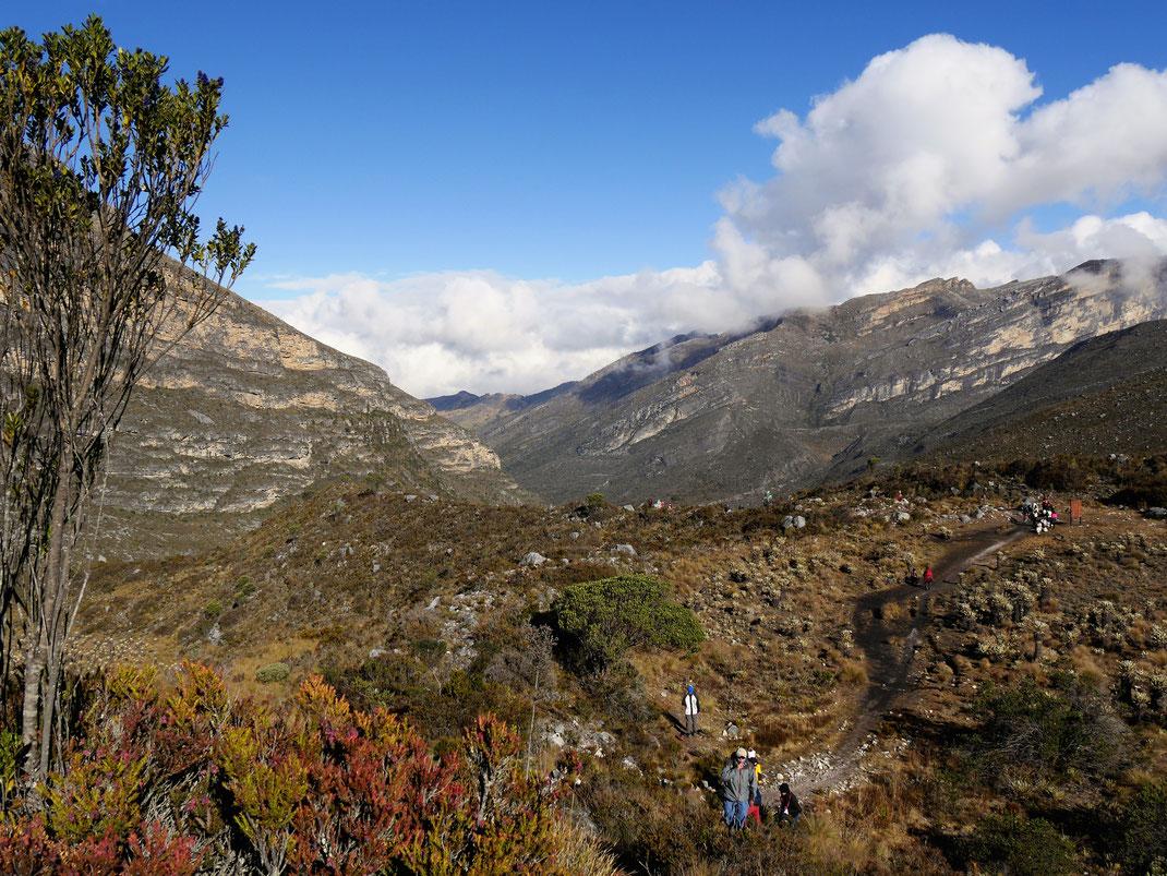 Diese spektakuläre Landschaft sollte man als Kolumbienreisender nicht verpassen - das ist ganz groß! El Cocuy Nationalpark, Kolumbien (Foto Jörg Schwarz)