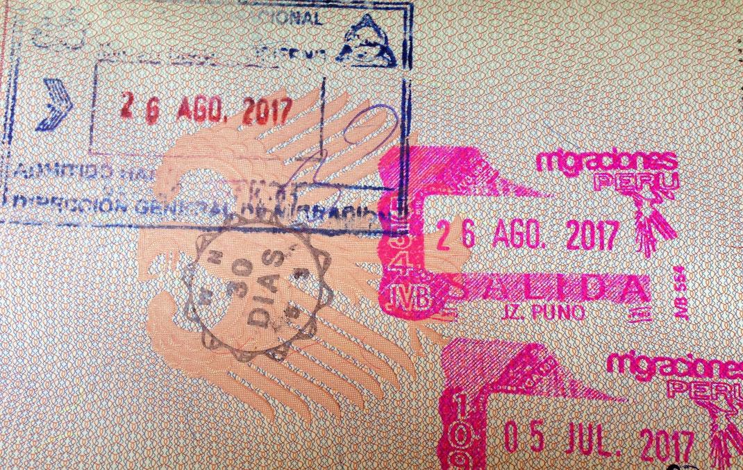 """""""Da ist das DING!"""" 30 Tage mehr Zeit für Bolivien... (Foto Jörg Schwarz)"""