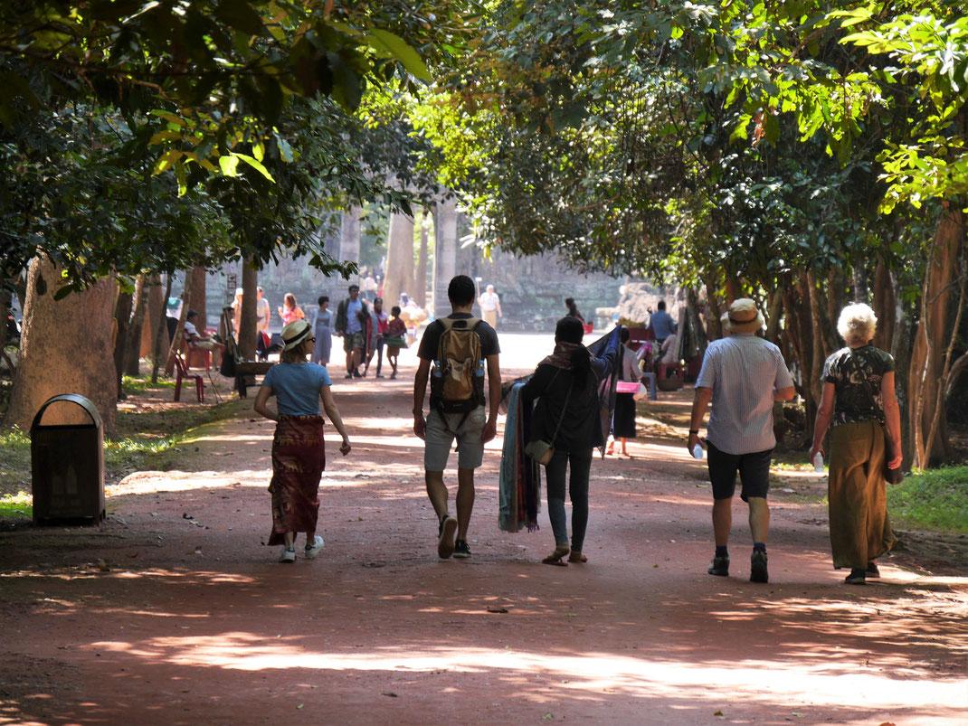 Auf dem Weg zum wundervollen Preah Khan, Kambodscha (Foto Jörg Schwarz)