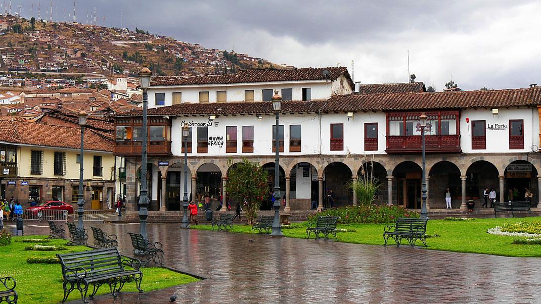 Die schönste Stadt ist bei Regen fad und grau, Cusco, Peru (Foto Jörg Schwarz)