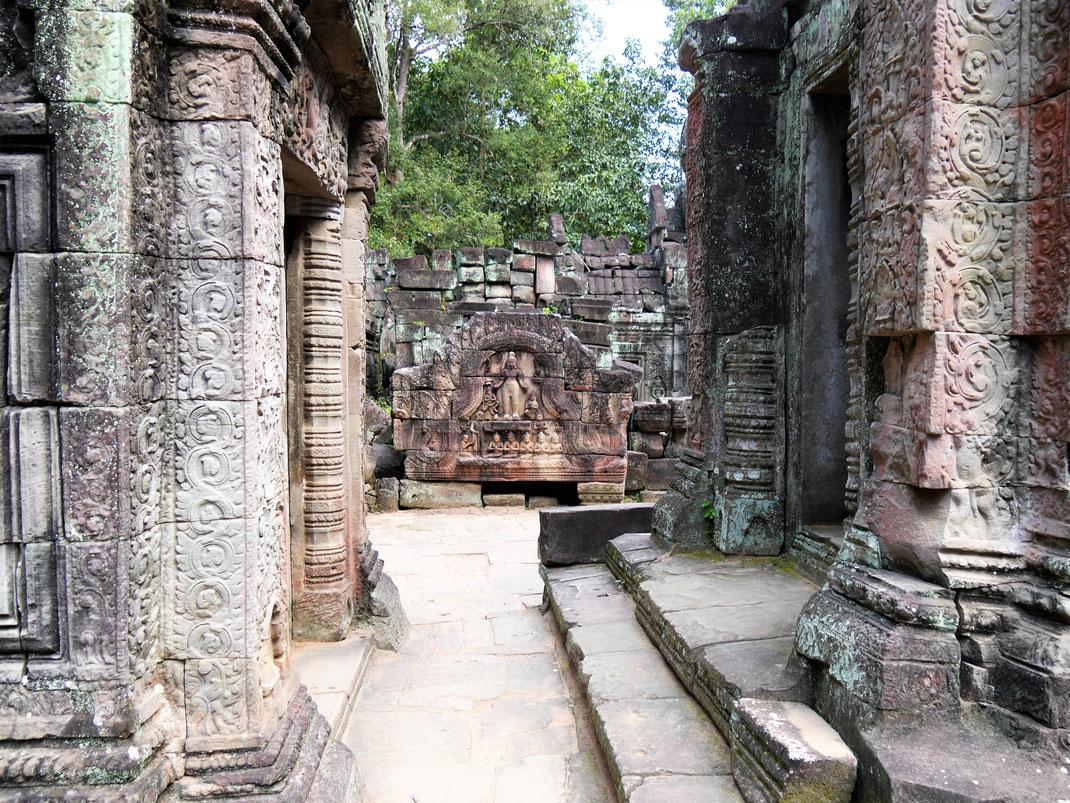 Der Tempel wurde erst 2012 fertig restauriert und ist seither besser zugänglich... Ta Som, Kambodscha (Foto Jörg Schwarz)