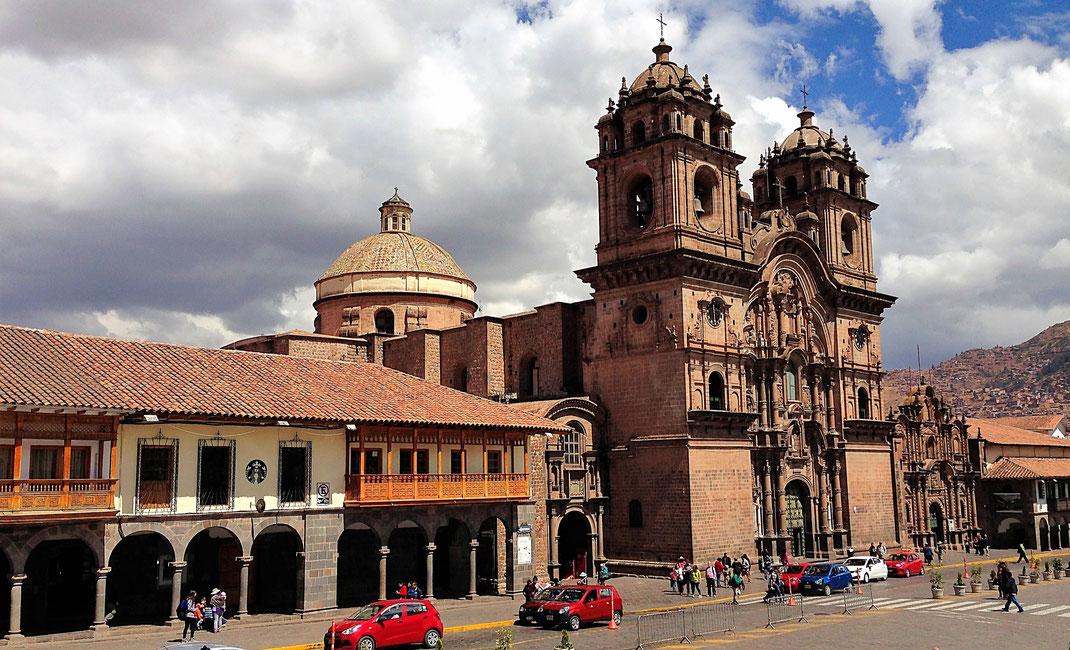 Die Kathedrale von Cusco, Cusco, Peru (Foto Jörg Schwarz)