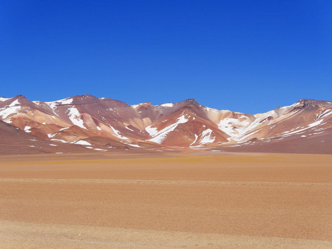 Teil des Desierto de Salvador Dalí, Reserva de Fauna Andina, Bolivien (Foto Jörg Schwarz)
