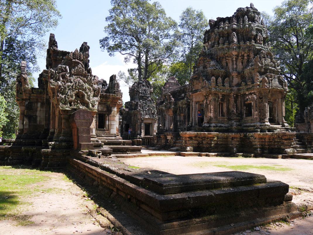 Auch der Chau Say Thevoda-Tempel ist ein Kleinod, Chau Say Thevoda, Kambodscha (Foto Jörg Schwarz)