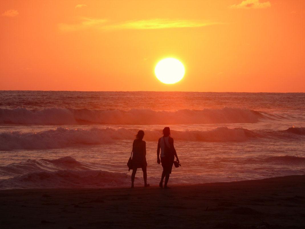 Dieser Beach ist was für Sonnen-Untergangs-Romantiker... (Foto Jörrg Schwarz)