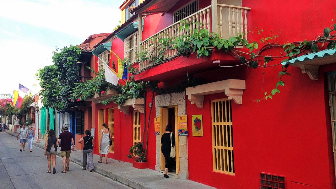 Das farbig-karibische Cartagena, Cartagena, Kolumbien (Foto Jörg Schwarz)