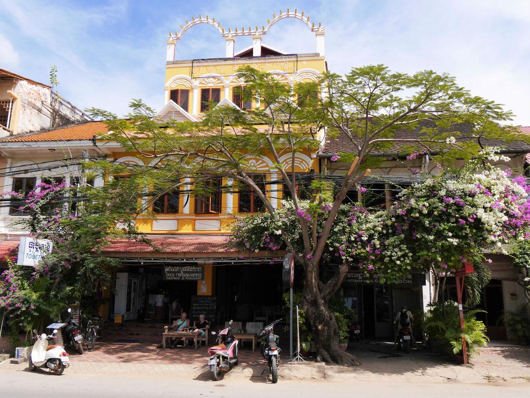Die Stadt ist eine der ästhetischsten, die wir in Asien kennen... Kampot, Kambodscha (Foto Jörg Schwarz)