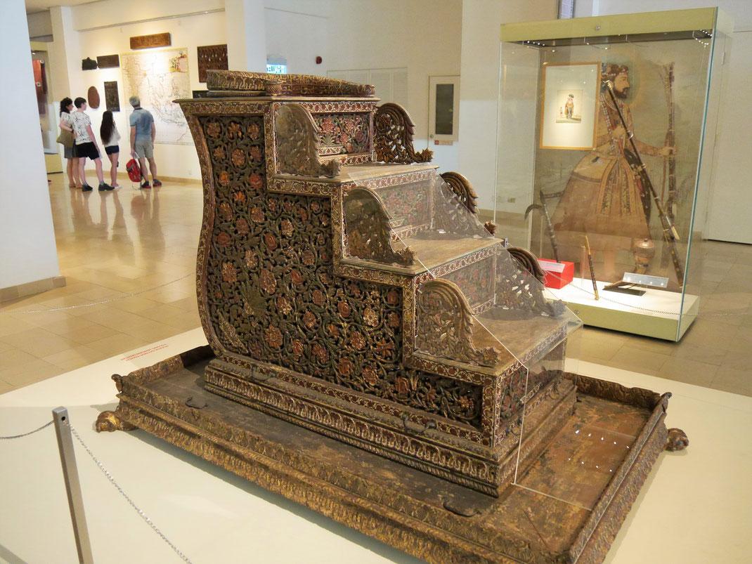 Nur eines - ein indisches - Beispiel für die Güte der islamischen Kunst, Kuala Lumpur, Malaysia (Foto Jörg Schwarz)