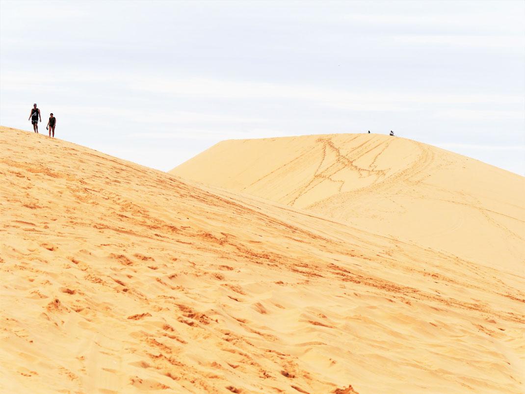 Ein Grund zum Freuen: Die weißen Dünen von Mui Ne, Vietnam (Foto Jörg Schwarz)