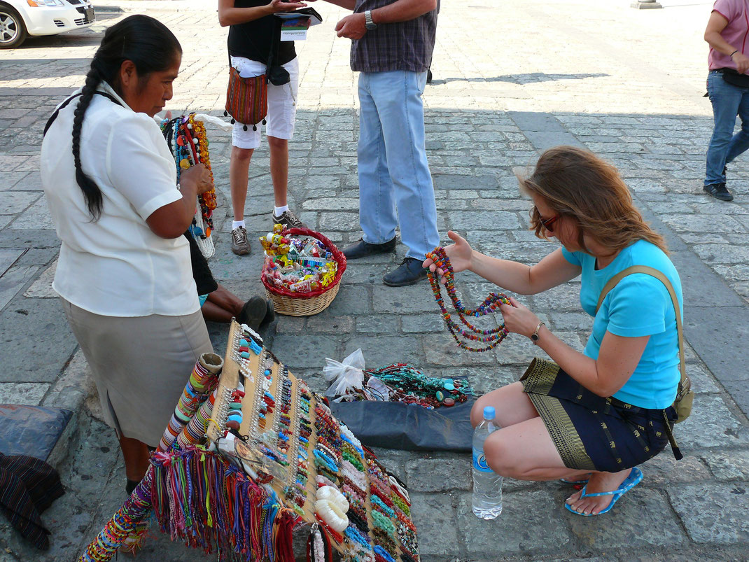 Oaxaca ist eine der indigensten Städte Mexikos (Foto Jörg Schwarz)