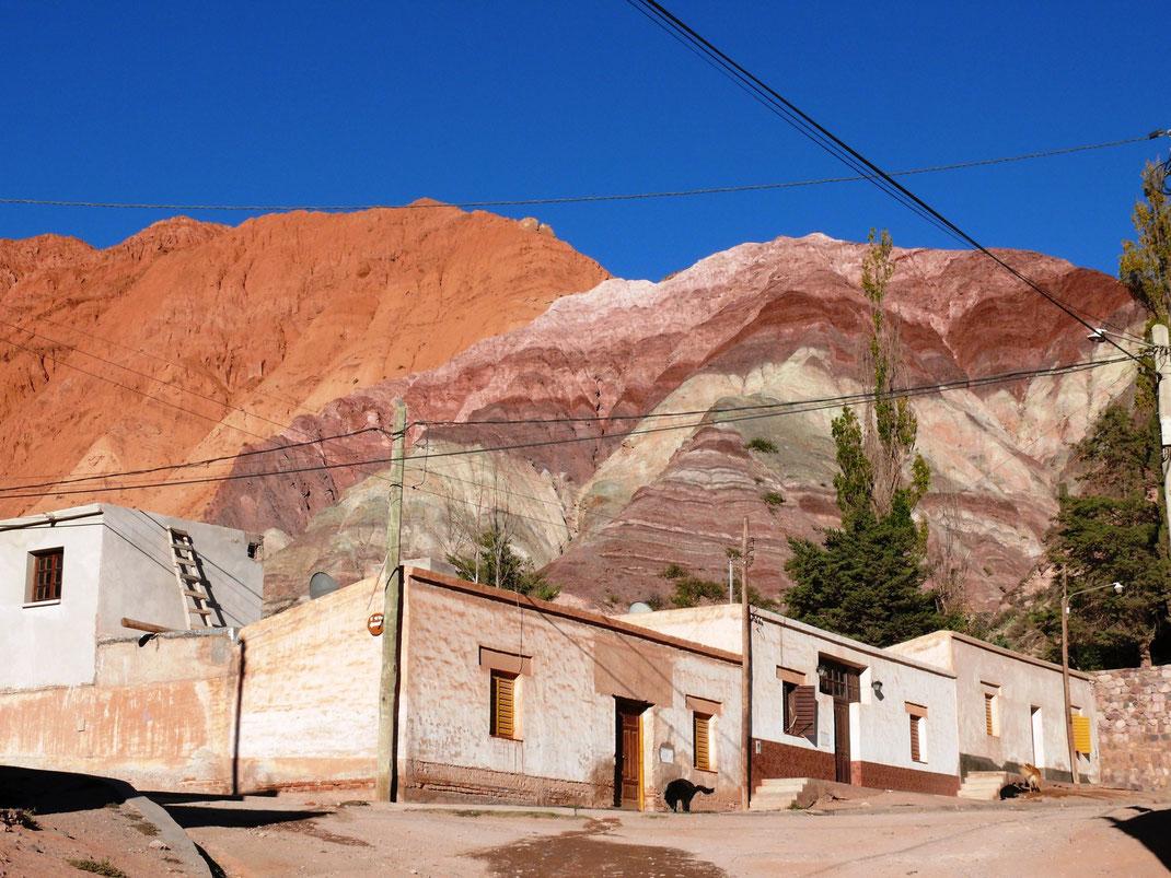 Der Cerro de los Siete Colores, Purmamarca (Foto Jörg Schwarz)