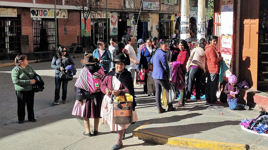 Huancavelica und seine Menschen: Großartig! Huancavelica, Peru (Foto Jörg Schwarz)