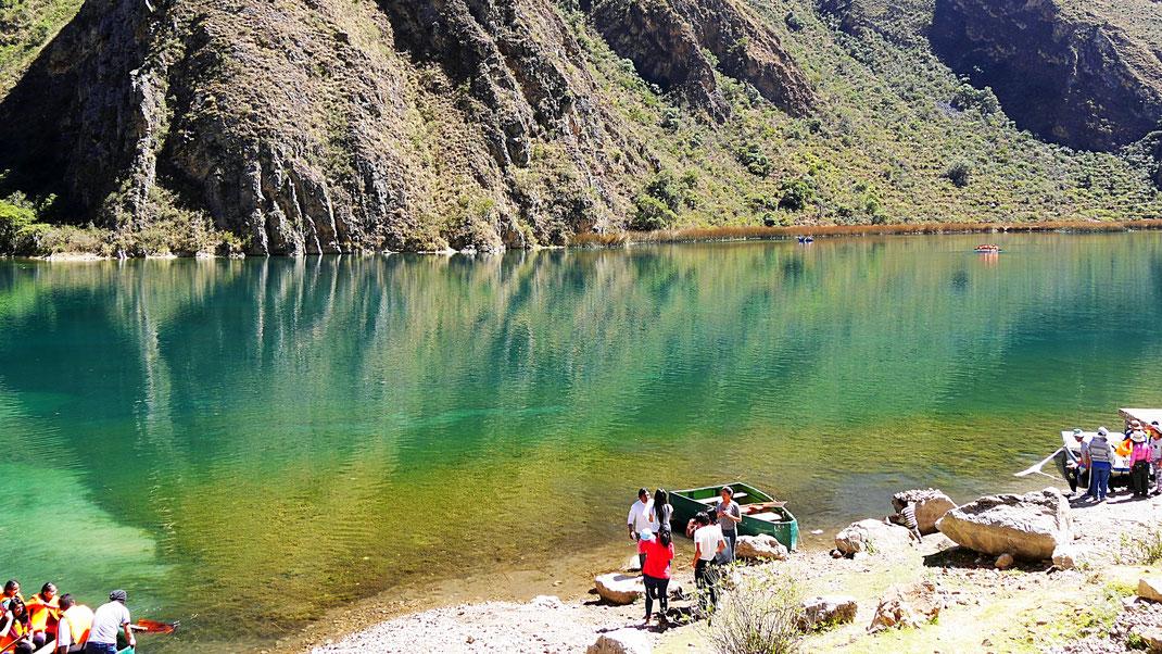 Die Laguna Piquecocha - nur eine Sehenswürdigkeit im Yauyos Cochas-Tal, Peru (Foto Jörg Schwarz)