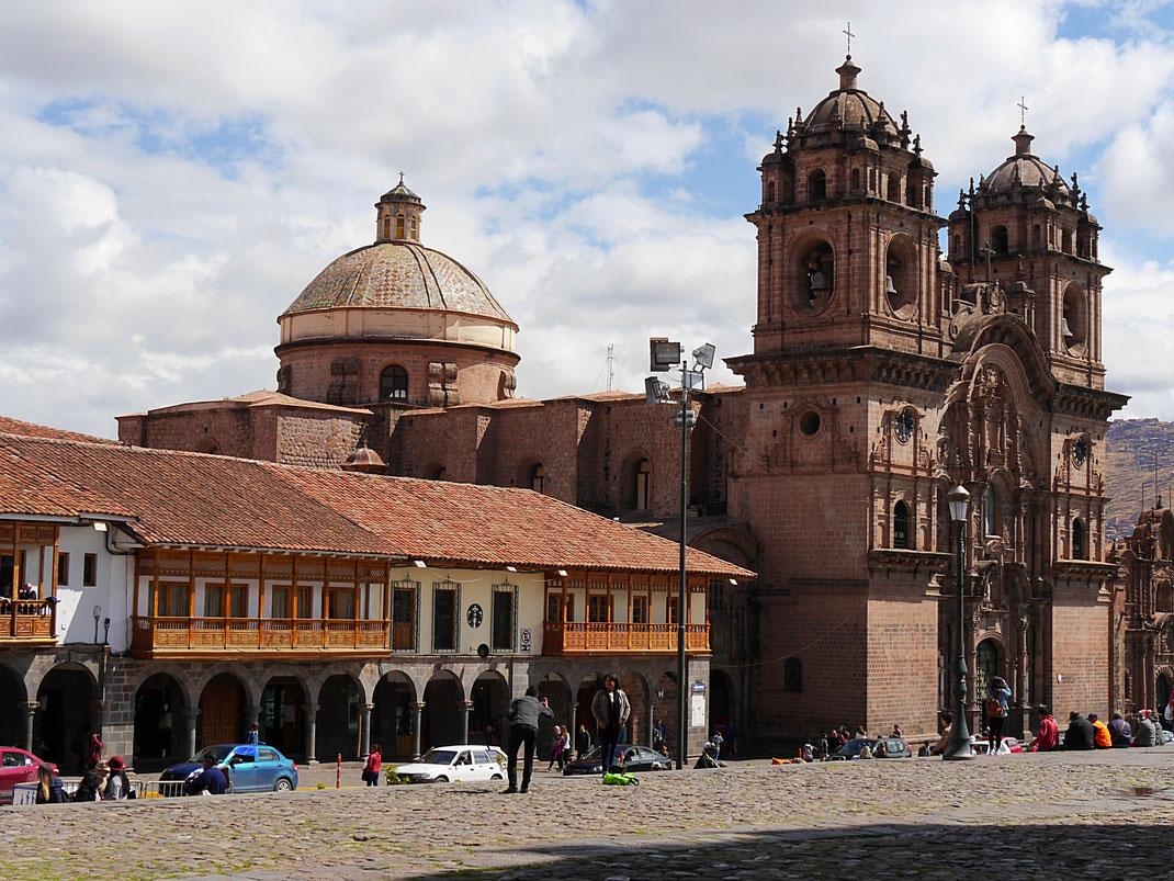 La Iglesia de La Companía de Jesús, Cusco, Peru (Foto Jörg Schwarz)