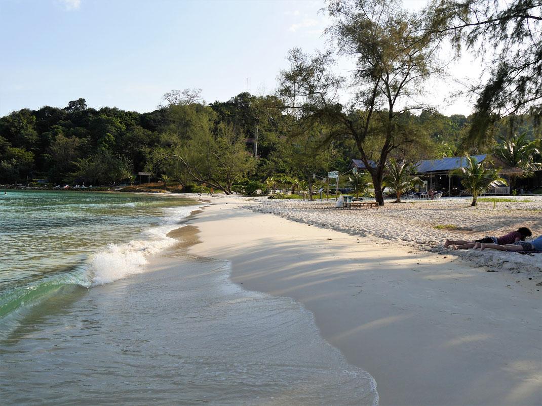 Ein Top-Strand: Der Coconut-Beach, Koh Rong, Kambodscha (Foto Jörg Schwarz)