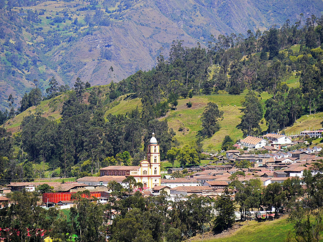 El Cocuy aus der Perspektive seiner grandiosen Landschaft, El Cocuy, Kolumbien (Foto Jörg Schwarz)