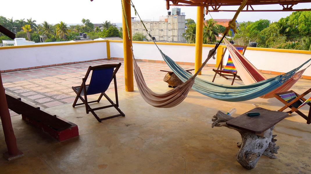 Ein Platz zum Chillen, Tolú, Kolumbien (Foto Jörg Schwarz)