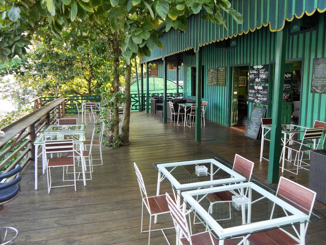 Das Restaurant des Greenhouse ist ambitioniert, Bei Kampot, Kambodscha (Foto Jörg Schwarz)