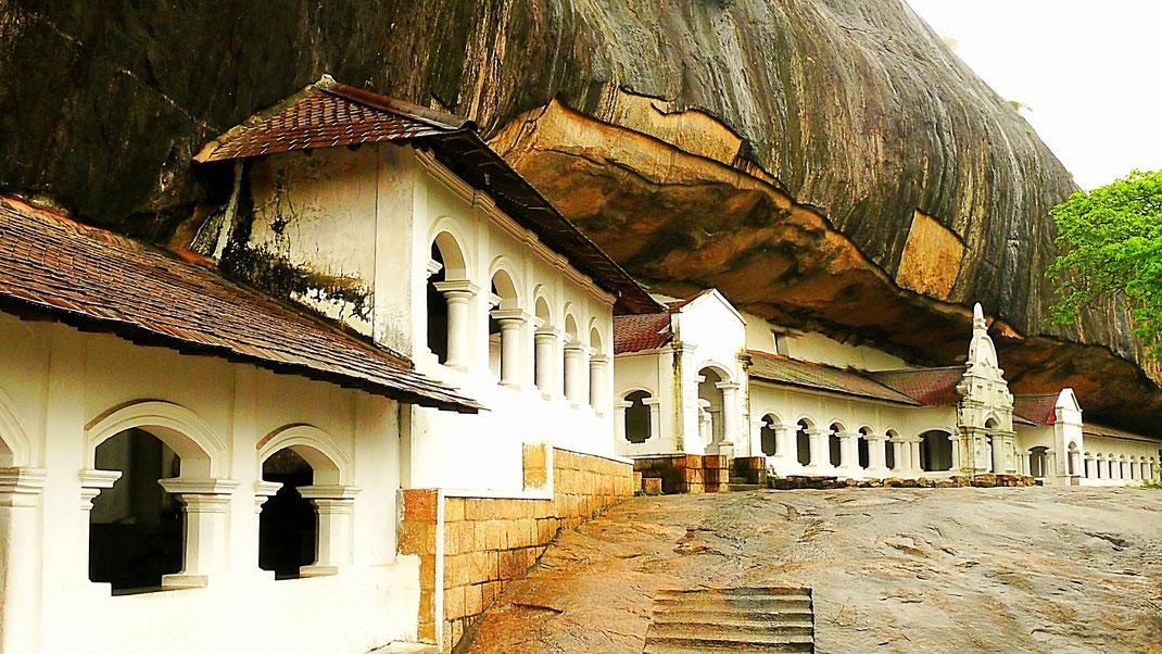 Spurenwechsler Reiseblog Reise TIP BLOG In der Spur Sri Lanka Dambulla, Schwarz Jörg Kultur Highlights