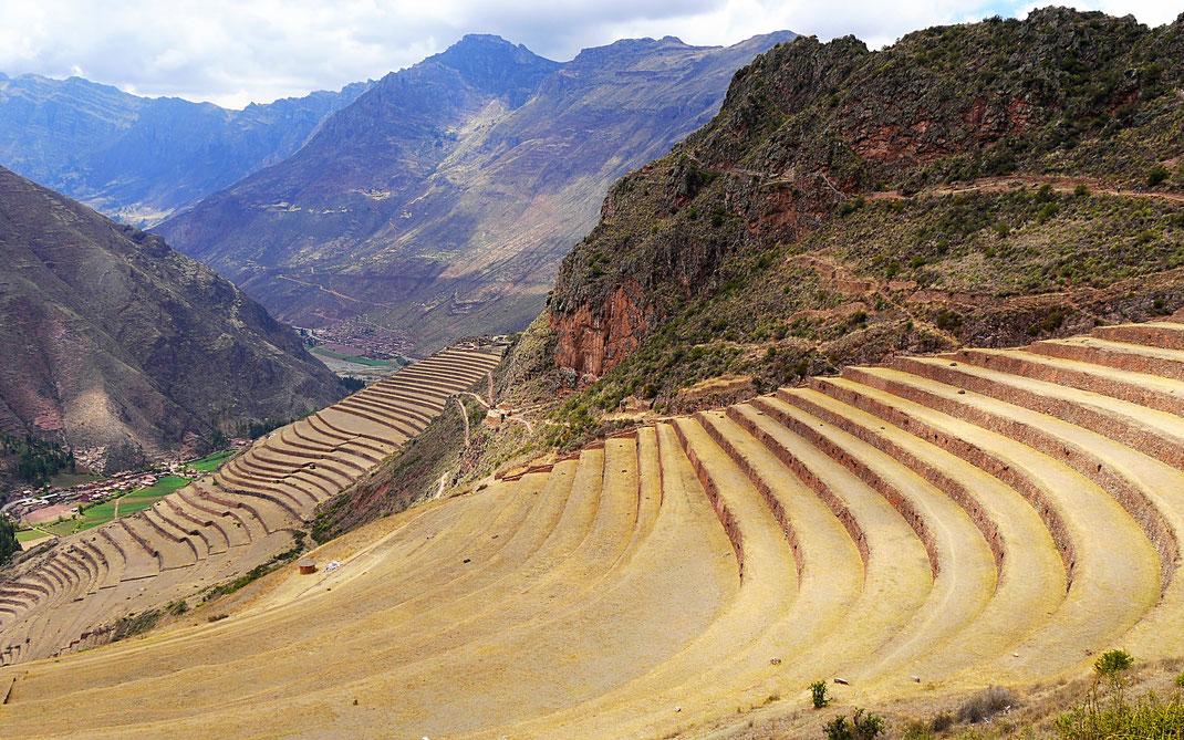 Die großartigen Terassenlagen bei P'isaqa, Pisac, Peru (Foto Jörg Schwarz)