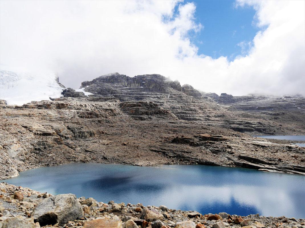 Die Laguna Grande auf gut 4.400 m, El Cocuy Nationalpark, Kolumbien (Foto Jörg Schwarz)