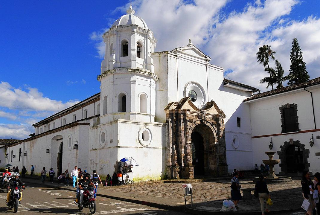 In der Kolonialstadt Popayán, Popayán, Kolumbien (Foto Jörg Schwarz)