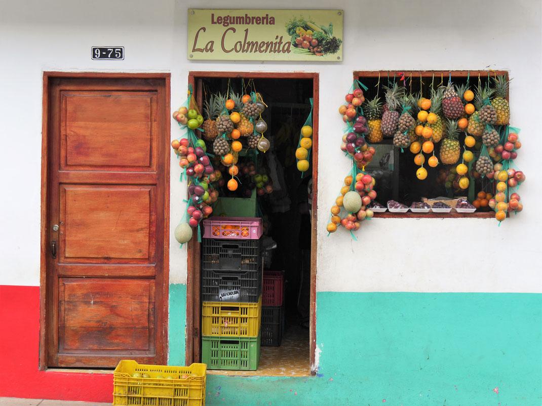 Ist das jetzt kitschig oder einfach geil...? Wir finden letzteres! Jardin, Kolumbien (Foto Jörg Schwarz)