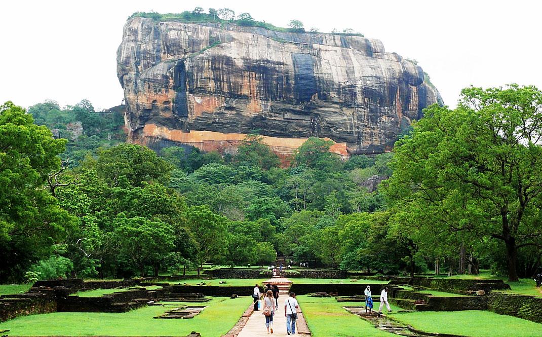 Spurenwechsler Reiseblog Reise TIP BLOG In der Spur Sri Lanka Sigiriya, Schwarz Jörg Kultur Highlights