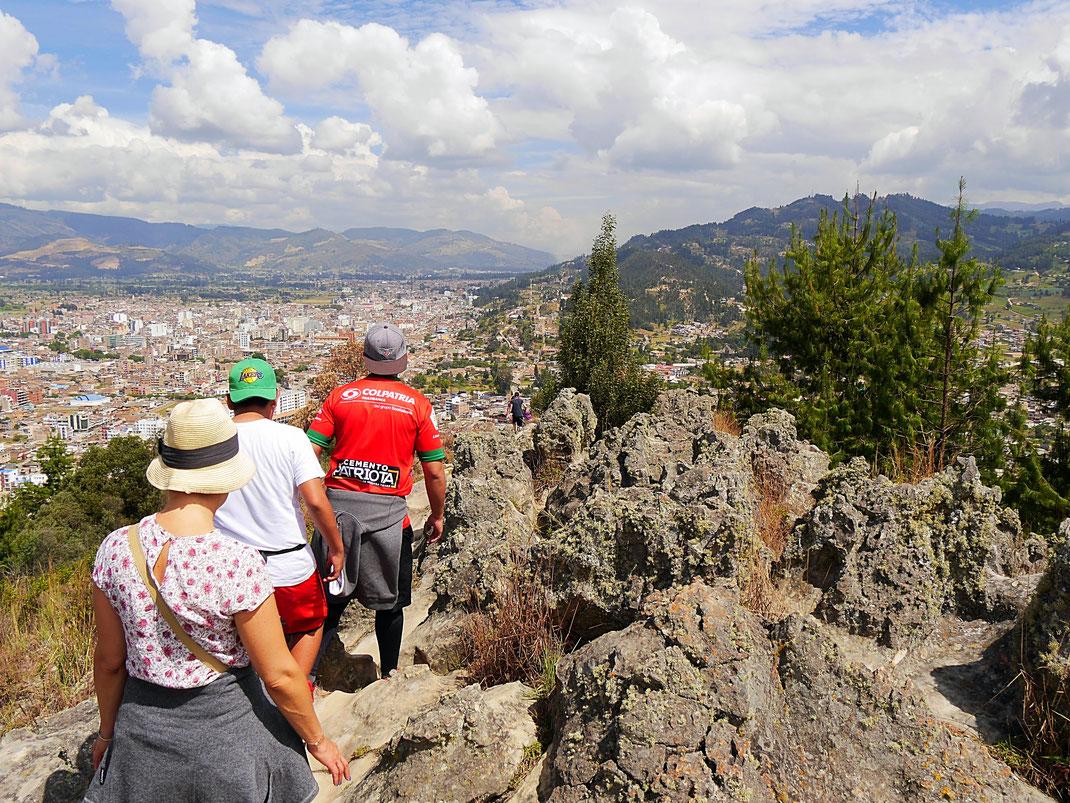 Beim Silverstertrekking über Sogamoso, Sogamoso, Kolumbien (Foto Jörg Schwarz)
