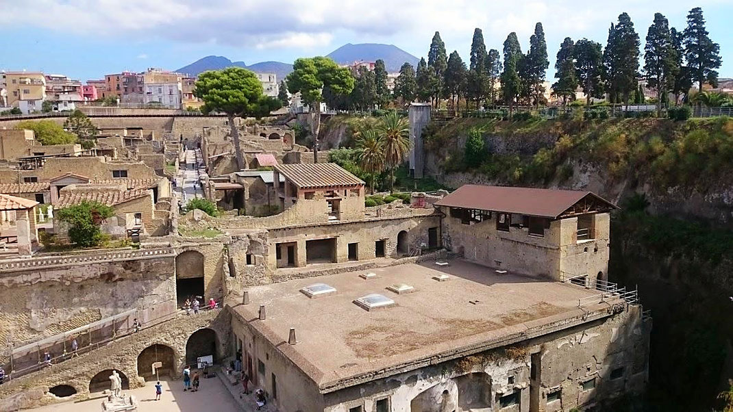 Man bekommt einen plastischen Eindruck vom Aufbau einer römischen Siedlung und der typischen Architektur und Kunst der Zeit (Foto Darius Behrouzi)