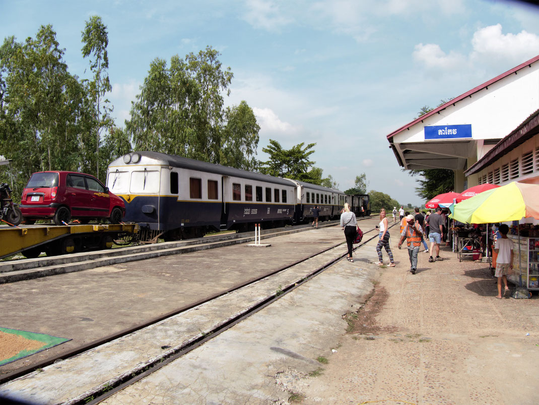 Wie ja jeder lesen kann: Takeo! Unsere Endstation... Takeo, Kambodscha (Foto Jörg Schwarz)