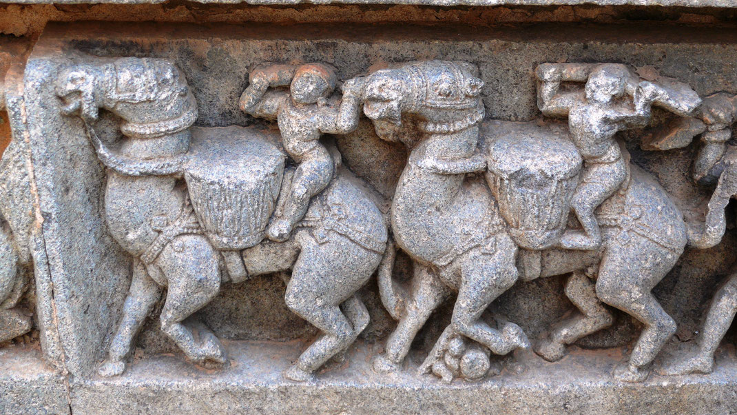 Spurenwechsler In der Spur Reiseblog Reise TIPS Kultur Highlights Indien Karnataka Tempel Schwarz Jörg
