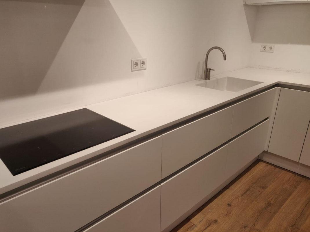 aanrechtblad zwart beton