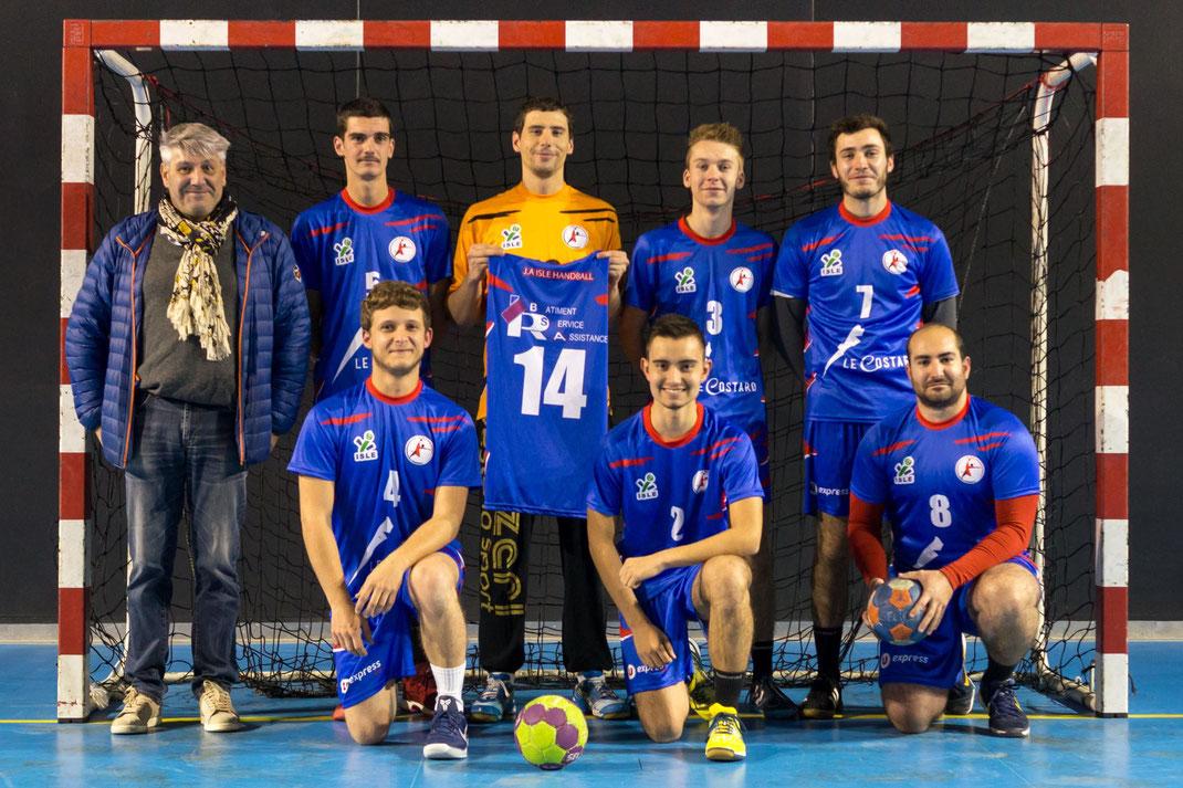 équipe masculine Seniors Excellence régionale