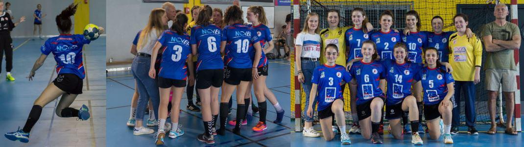 Dernier match pour l'équipe féminine des -18 ans en championnat de France : cliquez pour voir les photos