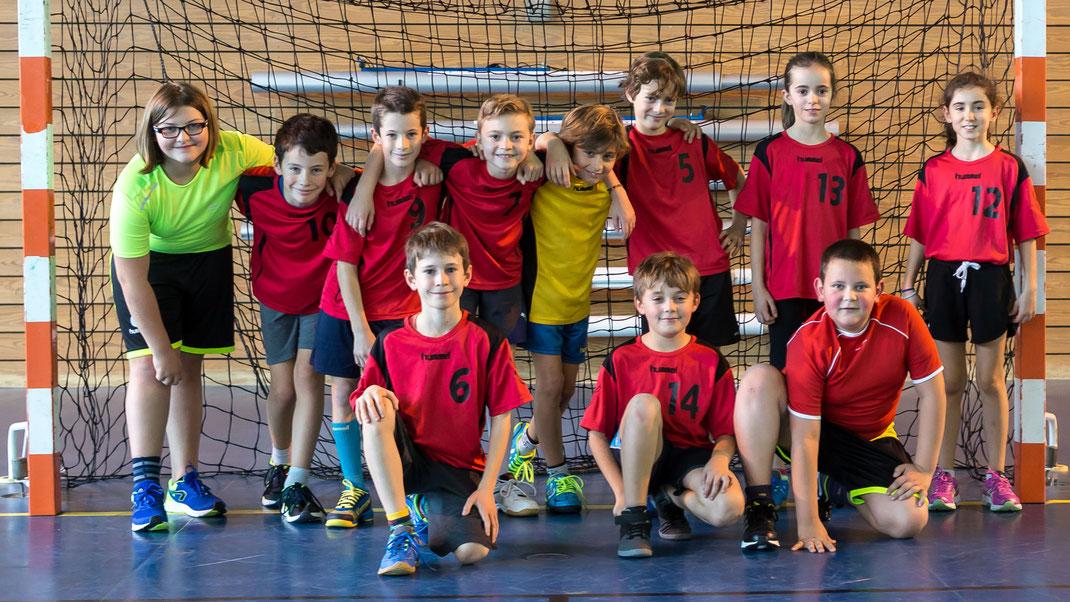 l'équipe mixte des moins de onze ans poster 1
