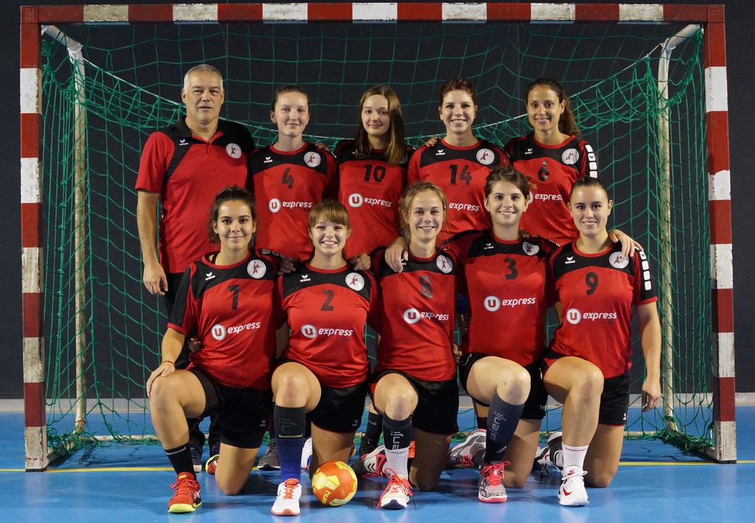 Saison 2019-2020 photos d'équipe des seniors filles