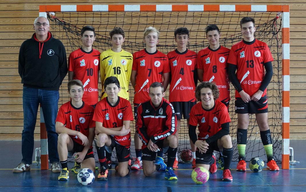 l'équipe masculine 1 des moins de 18 ans