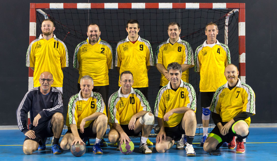 Equipe loisirs de la JA Isle Handball