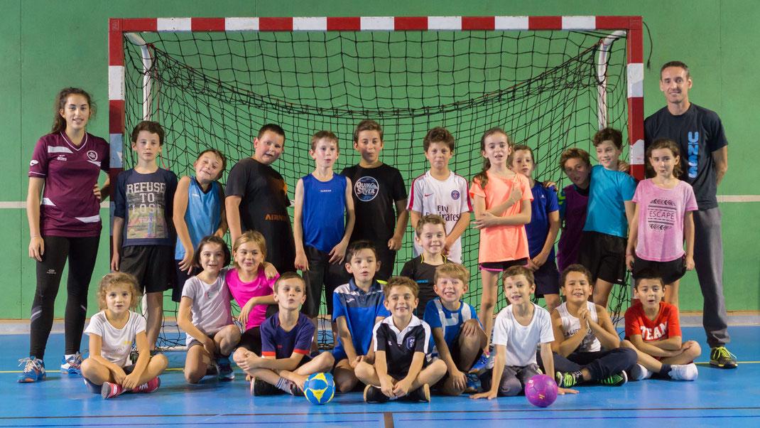 Saison 2017-2018 Ecole de Hand de la JA Isle Handball
