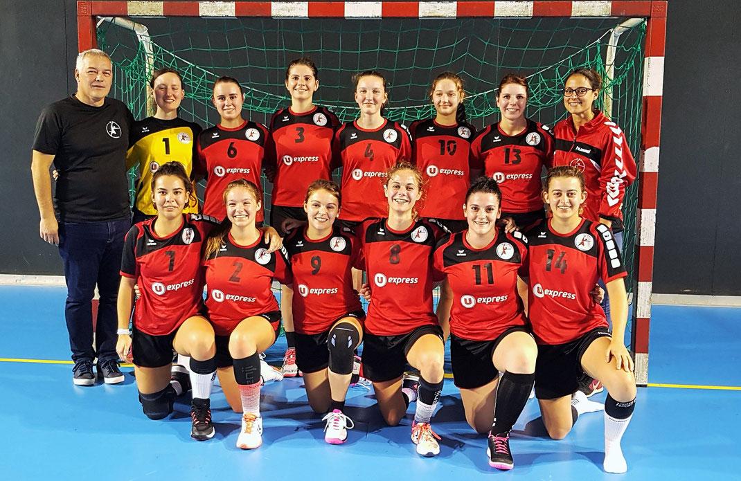 Equipe des seniors filles saison 2019-2020