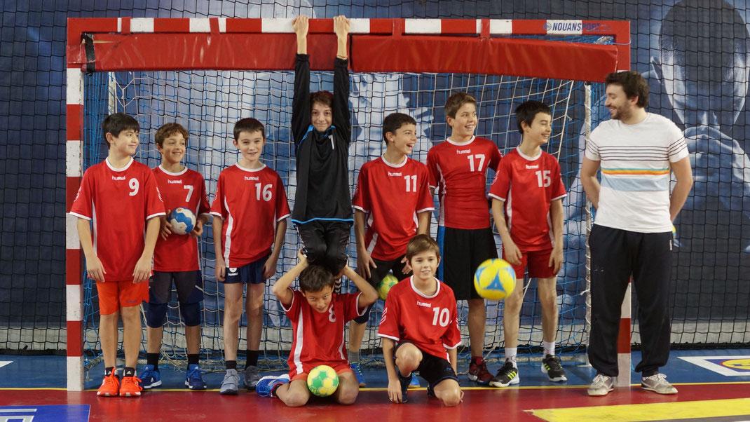 poster 2 de l'équipe des -13 ans garçons