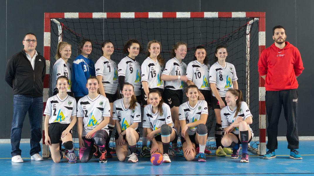 Intercomités féminins 2018 - Haute-Vienne (les joueuses avec le sourire)