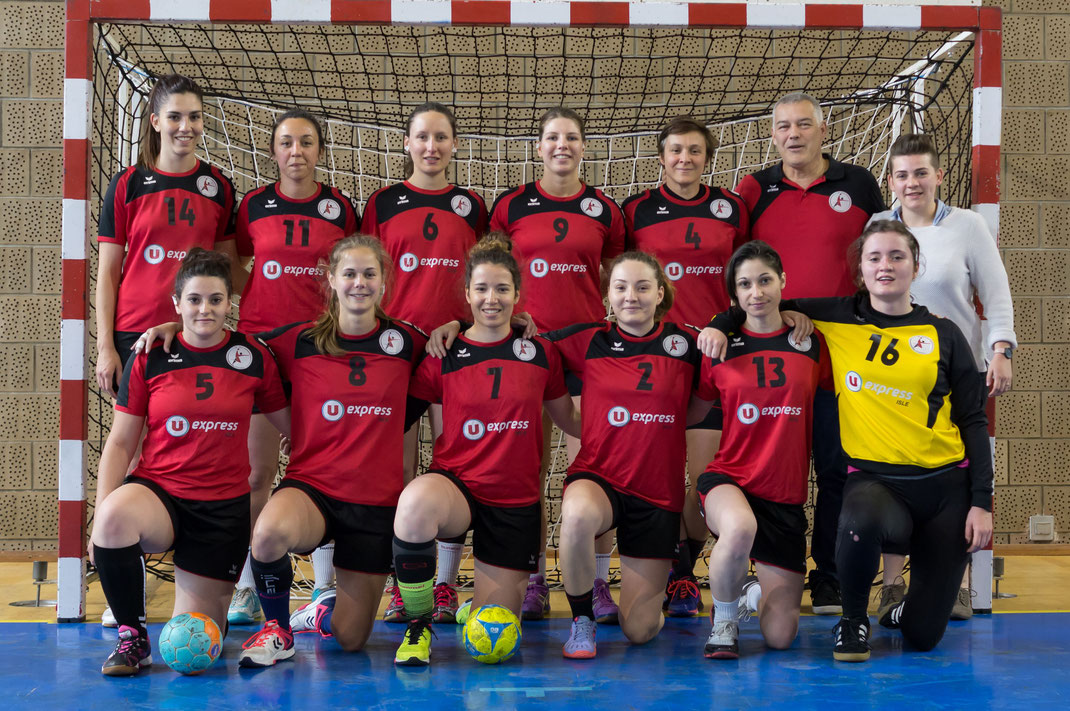 Equipe de la prenatF pour la saison 2017-2018