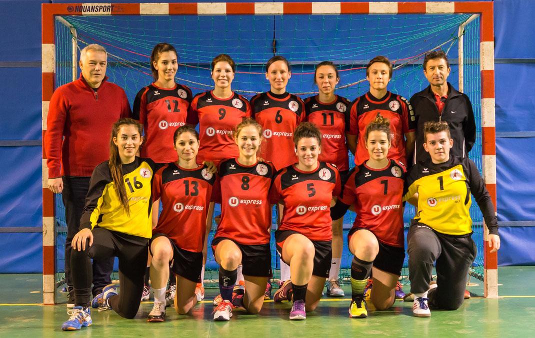 JA isle Handball équipe PrenatF